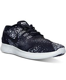 Nike Men's Free Run Print Running Sneakers from Finish Line