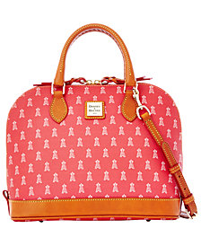 Dooney & Bourke Los Angeles Angels of Anaheim Zip Zip Satchel