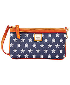 Dooney & Bourke Houston Astros Large Slim Wristlet