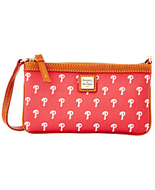 Dooney & Bourke Philadelphia Phillies Large Slim Wristlet