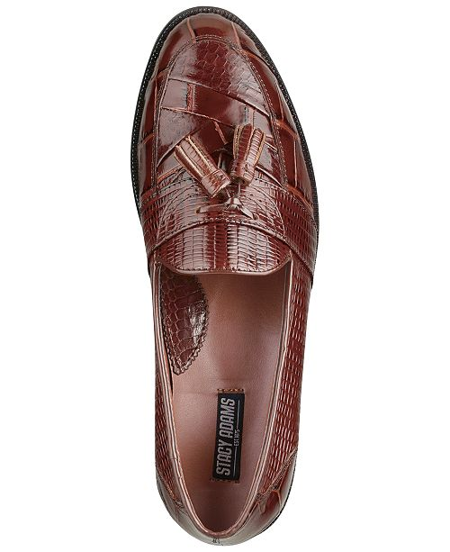 16bc8e7c7e Stacy Adams Santana Printed Tassel Loafers   Reviews - All Men s ...