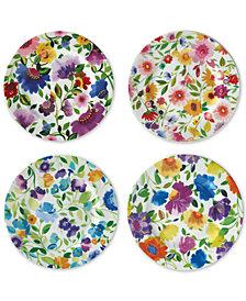 Kim Parker 4-Pc. Appetizer Plates