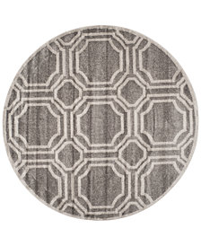 Safavieh Amherst Indoor/Outdoor AMT411 5' x 5' Round Area Rug