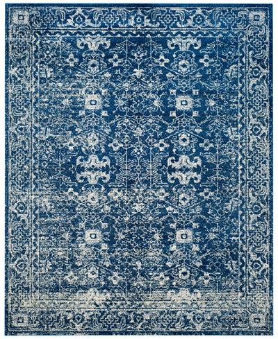 CLOSEOUT! Safavieh Evoke EVK270A Navy/Ivory Area Rugs