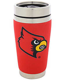 Hunter Manufacturing Louisville Cardinals 16 oz. Stainless Steel Travel Tumbler