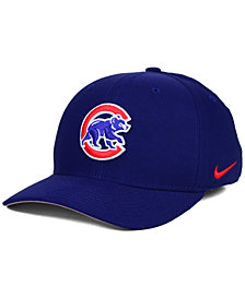 Nike Chicago Cubs Ligature Swoosh Flex Cap