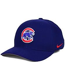 Nike Chicago Cubs Ligature Swoosh Flex Cap