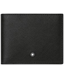 Unisex Sartorial Black Leather Wallet 113215
