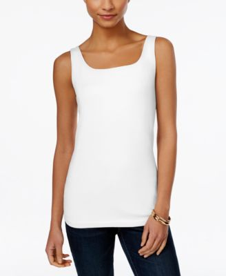 Image of Style & Co Shelf-Bra Tank Top, Only at Macy's