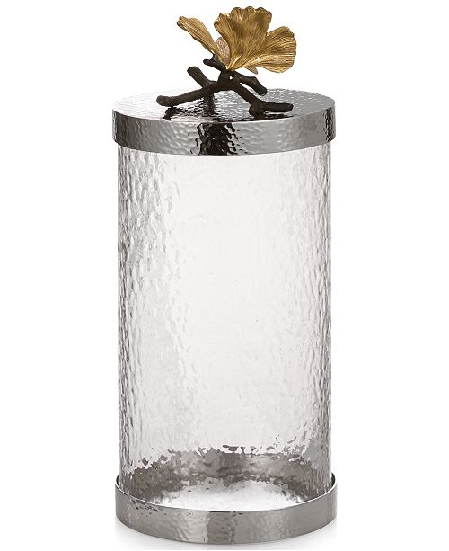 Michael Aram Erfly Ginkgo Large Kitchen Canister