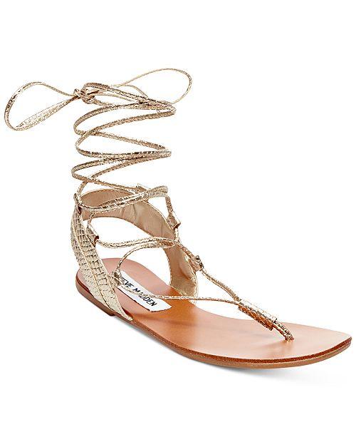 Steve Madden Walkitt Lace-Up Sandals