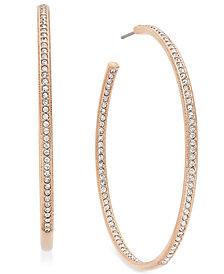 """Danori Earrings, Inside Out 2"""" Hoop"""