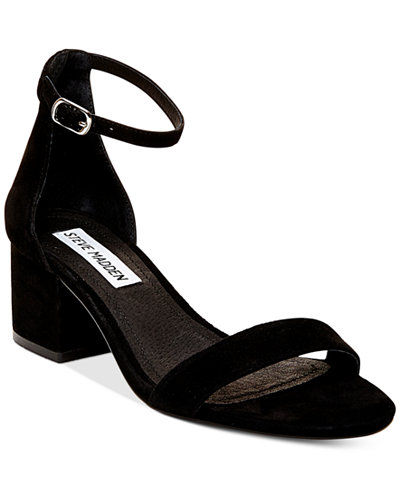 Steve Madden Women S Irenee Two Piece Block Heel Sandals