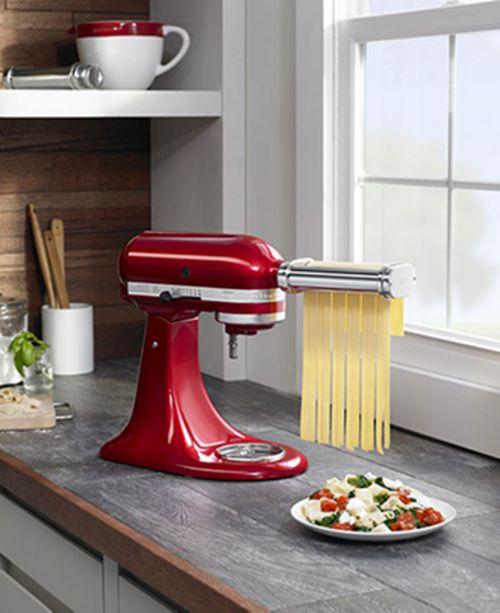 Kitchenaid Ksmpra Pasta Roller And Cutter Set Reviews Small