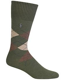 Men's Men's Five Diamond Argyle Socks