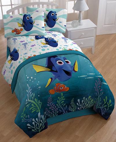 Disney S Finding Dory Sun Rays Full 7 Piece Comforter Set