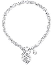 Logo Link Pendant Necklace