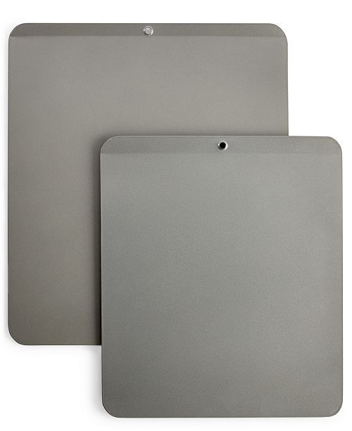 Martha Stewart Collection 2-Pc. Insulated Air Cookie Sheet Set, Created for Macy's