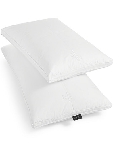 CLOSEOUT! Lauren Ralph Lauren Memory Foam Cluster Gusset Pillows, SupraCell™ Technology for Enhanced Airflow and Heat Reduction, 100% Cotton Cover