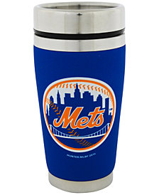 Hunter Manufacturing New York Mets 16 oz. Stainless Steel Travel Tumbler