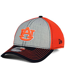 New Era Auburn Tigers Heathered Neo 39THIRTY Cap
