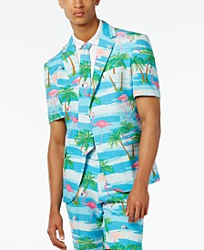 OppoSuits Men's Summer Flaminguy Flamingo Suit