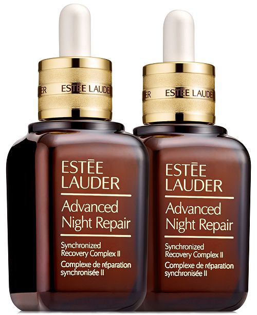 Estee Lauder Advanced Night Repair Synchronized Recovery Complex II Duo, 1.7 oz X 2