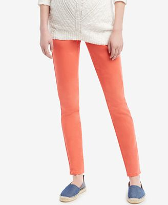 Jessica Simpson Maternity Skinny Colored Jeans - Maternity - Women ...