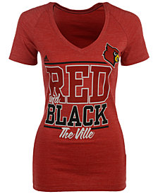 adidas Women's Louisville Cardinals Show Your Colors T-Shirt