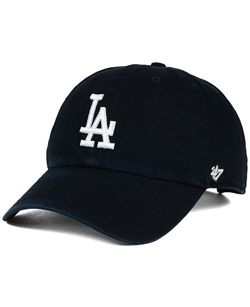 b328a6cc8ea 47 Brand Los Angeles Dodgers Core Clean Up Cap - Sports Fan Shop By ...