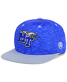 Top of the World Middle Tennessee State Blue Raiders Energy 2-Tone Snapback Cap