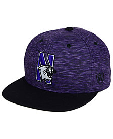 Top of the World Northwestern Wildcats Energy 2-Tone Snapback Cap