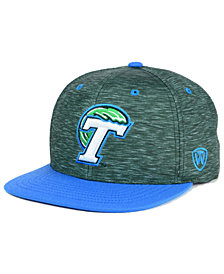 Top of the World Tulane Green Wave Energy 2-Tone Snapback Cap