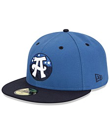 Asheville Tourists AC 59FIFTY Fitted Cap