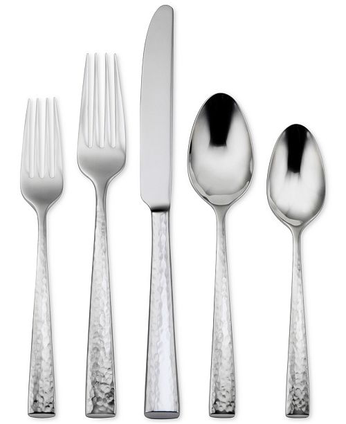 Oneida 18 10 Stainless Steel Cabria 20 Pc Flatware Set
