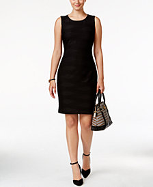 Tommy Hilfiger Textured Sheath Dress