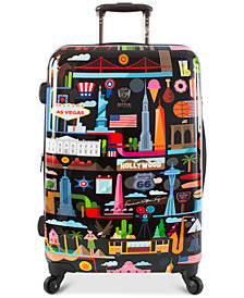 "Heys FVT USA 26"" Expandable Hardside Spinner Suitcase"