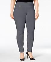 b82e13387c180 Alfani Plus   Petite Plus Size Tummy-Control Pull-On Skinny Pants