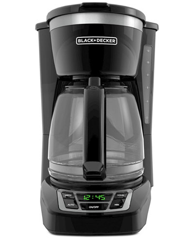Black & Decker CM116OB 12-Cup Digital Coffee Maker