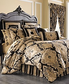 Bradshaw Black King 4-Pc. Comforter Set