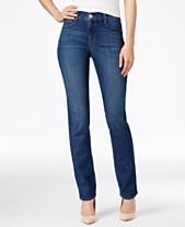 eb11e23eedcf1 Style   Co Tummy-Control Slim-Leg Jeans