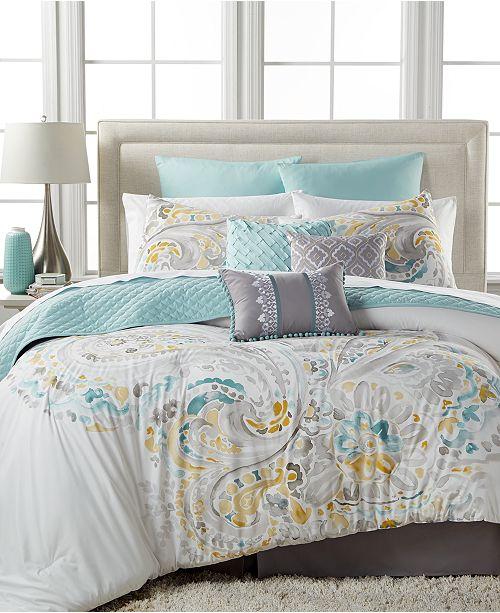 Baltic Linens CLOSEOUT! Sahar 10-Pc.Full Comforter Set