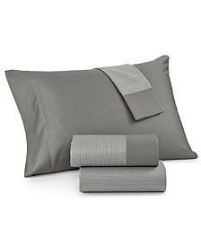 CLOSEOUT! Charter Club Reversible California King 4-pc Sheet Set, 550 Thread Count, Created for Macy's