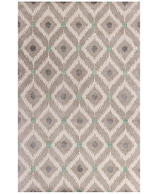 "Kas Bob Mackie Home 1017 Silver/Grey Mirage 2'6"" x 8' Runner Rug"