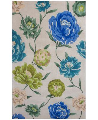 """Catalina Floral Oasis 7'9"""" x 10'6"""" Area Rug"""