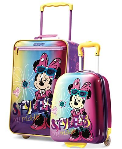 Disney Minnie Mouse Kids Luggage