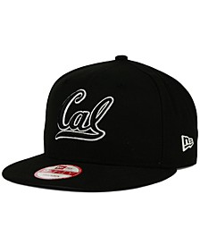 California Golden Bears Black White Fashion 9FIFTY Snapback Cap