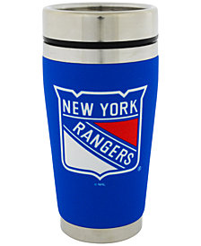 Hunter Manufacturing New York Rangers 16 oz. Stainless Steel Travel Tumbler