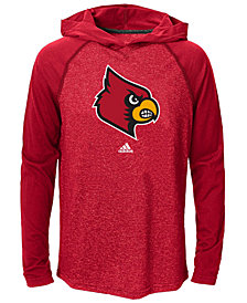 adidas Little Boys' Louisville Cardinals Ultimate Hooded T-Shirt, Big Boys (8-20)