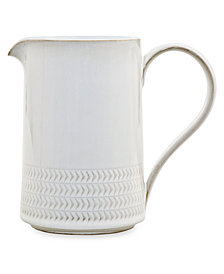 Denby Natural Canvas Stoneware Textured Medium Jug